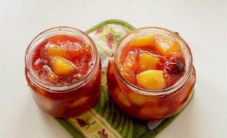 Варенье с нектарином, сливой и абрикосами