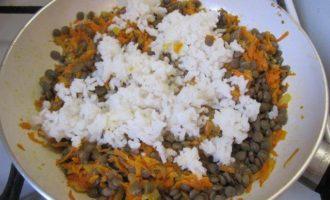 Чечевично-рисовый паштет