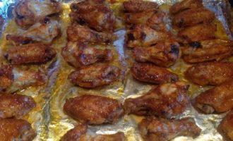Острые куриные крылышки в глазури