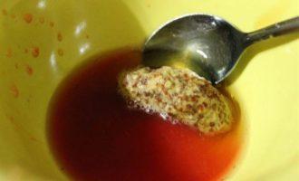 Салат из утиной грудки с апельсином