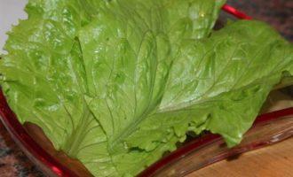 Овощной салат с маринованной свеклой