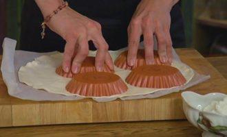 Ягодные тарталетки с рикоттой