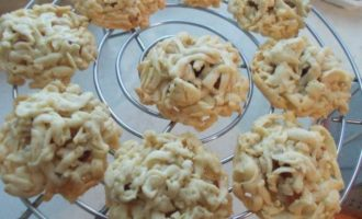 Песочное печенье с сухофруктами