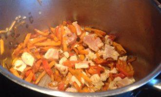 Суп с цветной капустой и индейкой
