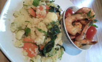 Кук-кус с летними овощами