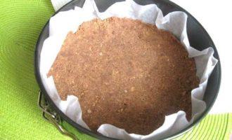 Шоколадно-лимонный чизкейк со вкусом горького миндаля