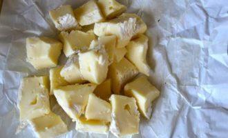 Ризотто с сыром Камамбер и фундуком