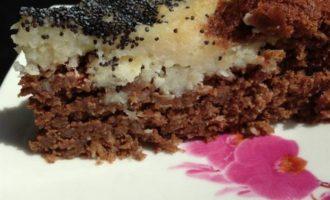 """Грушево-кокосовый пирог """"Лилия"""""""