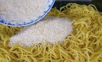 Колобки из спагетти