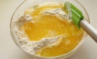 Апельсиновый кекс на белках