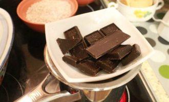 Конфеты с шоколадно-сливочной начинкой