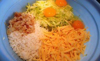 Кабачково-рисовая запеканка