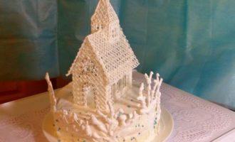 """Торт """"Белое безмолвие"""""""