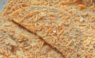 Сельдерей в сырной панировке