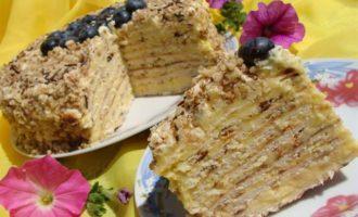 """Торт """"Творожный"""" на сковороде"""
