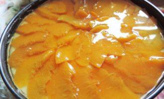 """Творожно-персиковый торт """"Нежность"""""""