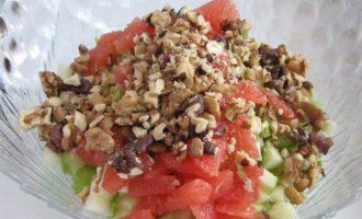 Вальдорфский салат с грейпфрутом