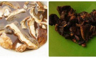 Постный борщ с нутом и грибами