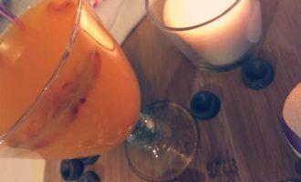 Облепиховый чай с ананасом и имбирем
