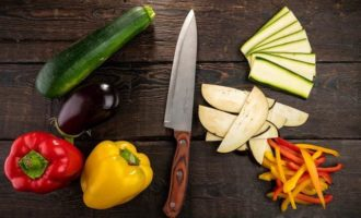 Кускус с жареными овощами