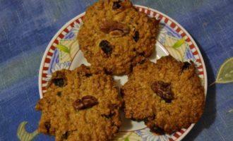 Овсяное печенье быстрого приготовления