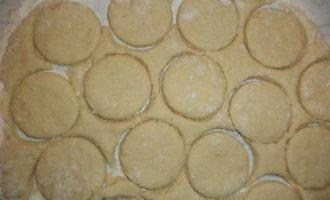 Кокосовое печенье с двойной начинкой