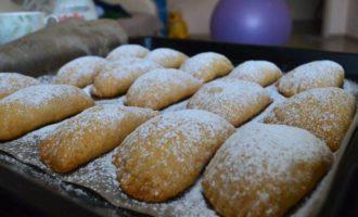 Ракушки с начинкой из фиников и грецких орехов