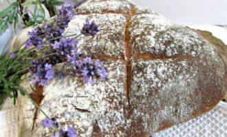 Лавандовый хлеб