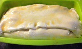 Запеченный кекс с тунцом