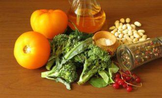Завтрак из овощей-гриль