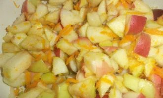 Яблочные пирожные