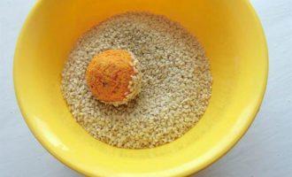 Закусочные морковные шарики