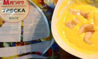 Рыба в кляре в кисло-сладком соусе