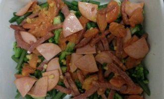 Фриттата из замороженных овощей