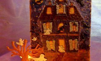 """Кейкпопсы и """"Дом с привидениями"""""""