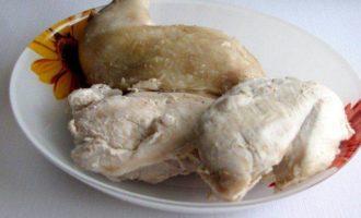 Нежное куриное суфле