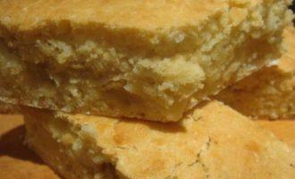 Кукурузный пирог, постный