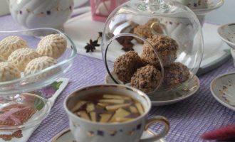 Яблочный чай с бадьяном