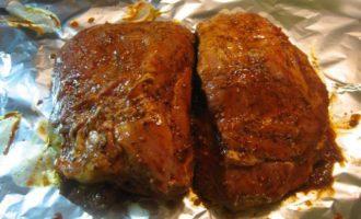 Нежное запечённое мясо