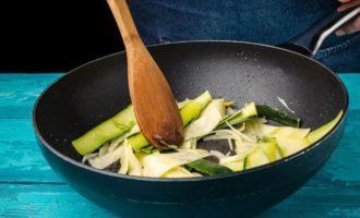 Филе тунца на овощной подушке
