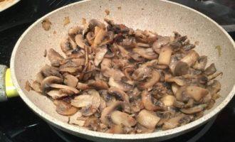 Курник с грибами