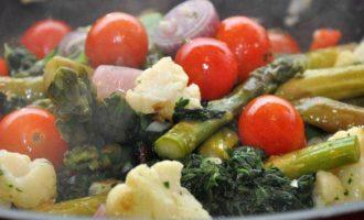 "Феттучине с овощами ""Primi Piatti con Verdura"""