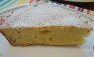 Бразильский кукурузный заварной пирог