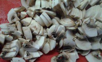 Блины с картофельно-грибной начинкой