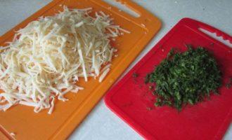 Хлеб из кабачка с сыром и зеленью
