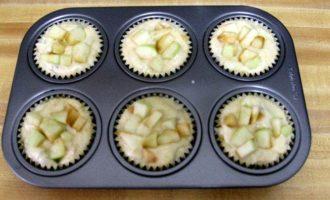 Лавандово-яблочные маффины