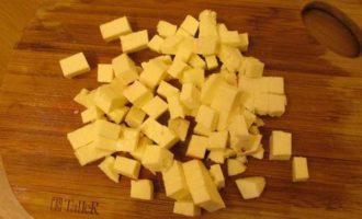 Кускус со свеклой и адыгейским сыром