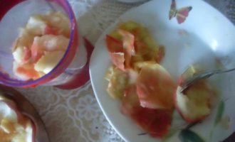 Яблочные конфеты без сахара с фундуком