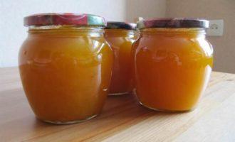 Тыквенный конфитюр с апельсином
