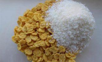 Кукурузно-кокосовые хрустяшки